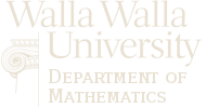 Walla Walla University Mathematics